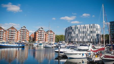 Ipswich Waterfront. Picture Archant