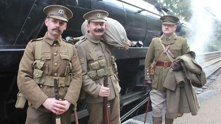 The North Norfolk Railway is set to host the first Tracks and Trenches: Railways in the Great War ev