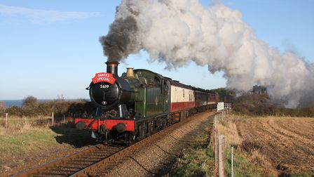 Steam trains transport visitors back in time on the North Norfolk Railway. Picture: STEVE ALLEN