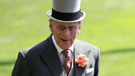 The Duke of Edinburgh and Her Majesty The Queen during day one of Royal Ascot at Ascot Racecourse. P