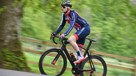 Ryan Gray, who is taking on a cycling challenge across America,. Picture Andy Hooper