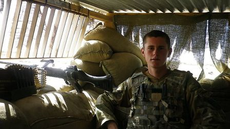 Ryan Gray in Afghanistan. Photo: Supplied