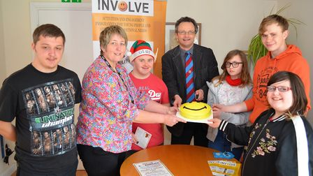 The Involve Active open day was attended by prospective parliamentary candidate Peter Aldous. Pictur