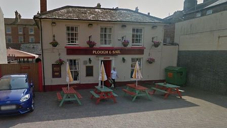 The Plough and Sail pub in London Road South, Lowestoft. Photo: Google.