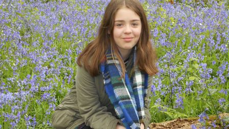 Esme Findlay, aged 11, from Dereham. Picture: CLAIRE FINDLAY.