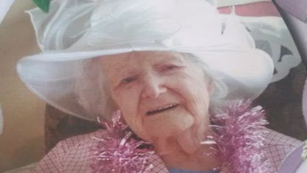 Nelly Vallance has celebrated her 104th birthday at The Gables. Picture: Healthcare Homes Group
