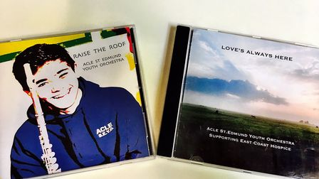 Acle St Edmund Youth Orchestra have recorded a second CD - Love's Always Here. It follows last year