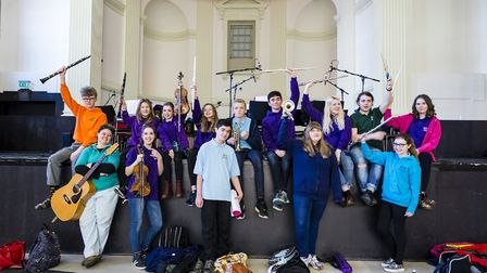 Acle St Edmund Youth Orchestra have made Love's Always Here in aid of the East Coast Hospice appeal