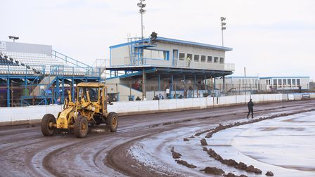The meeting between the King's Lynn Stars and Rye House has been postponed. Picture: Ian Burt