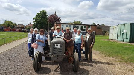 Nearly 40 tractors came out for a tractor run in Dereham. Picture: John Gillespie