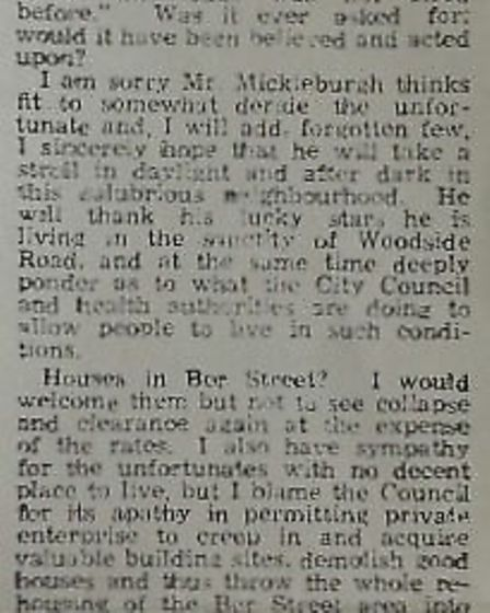 Letters warning of the dangers in the Evening News. Photo: Archant Library