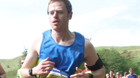 Mark Armstrong is tackling his second marathon in Nottingham this weekend. Picture: Edinburgh Marath