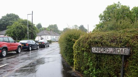Orford Road in Swaffham, where the family were last seen. Picture: Ian Burt