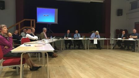 The King's Head Meadow playscape was discussed for hours at June's Wymondham Town Council meeting. P
