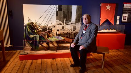 John Balls will deliver a talk on Friday about Titanic passengers travelling under assumed names PHO