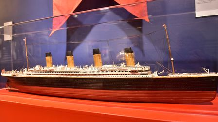A new Titanic exhibition is now on display at the Time and Tide museum. PHOTO: Nick Butcher