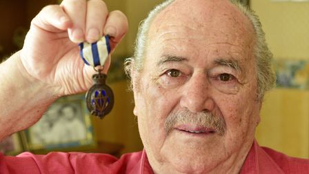 Mariner Frederick Smith was aboard HMS Grove when it was sunk 75 years ago by a German U-Boat. He w