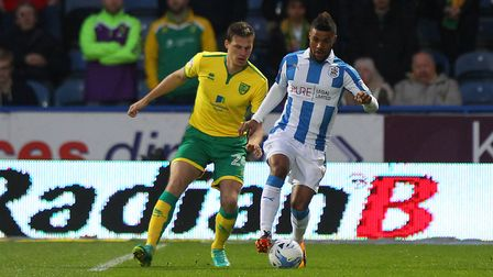 Elias Kachunga has been an impressive German import at Huddersfield Town. Picture : Paul Chesterton/
