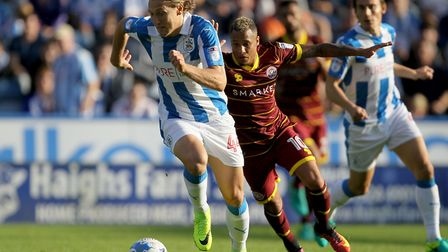 Huddersfield Town's Michael Hefele was recruited from Germany. Picture: Richard Sellers/PA Wire.