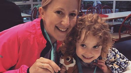 Sarah Wynn and her daughter, Poppy, 3. Picture: Courtesy of Sarah Wynn.