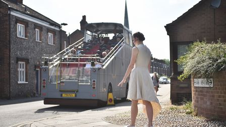 Rear View performance for the Norfolk and Norwich Festival 2017. Picture: ANTONY KELLY