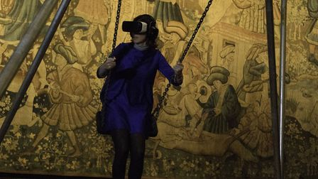 NNF17. VR Playground. Photo: supplied by Norfolk and Norwich Festival.
