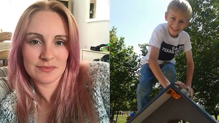 Kayleigh Gray from Earlham has been fighting to get an education for her son Lewis, 12, who has ADHD
