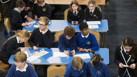 Year five pupils from across the region took part in a maths challenge at Langley Preparatory School