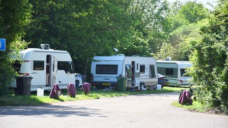 Travellers at Oulton Broad. Picture: Archant.