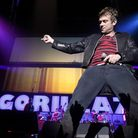Damon Albarn and the Gorillaz. Picture: Peter Byrne/PA Wire