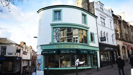 The Book Hive, Norwich, which hosted the event on Thursday, July 13. Photo: Antony Kelly
