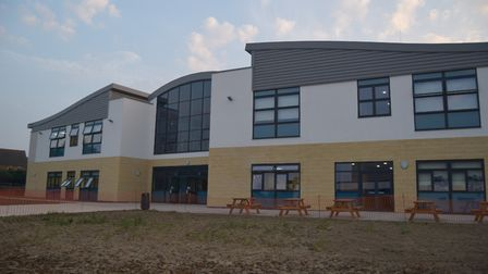 The opening of Pakefield High School's phase three building last September. Picture: Archant.
