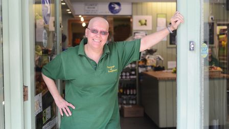 Kim Starling has launched a luxury fruit basket business. Picture: Ian Burt