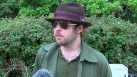James Skelly spoke to Mustard TV after The Coral's performance at Latitude (Picture: Mustard)