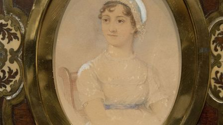 The portrait of Jane Austen, by James Andrews, that will appear on the new Bank of England �10 note.