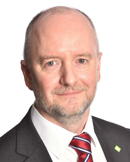 Mark O'Hagan, joint chief executive of East of England Co-op. Picture: James Fletcher Photography