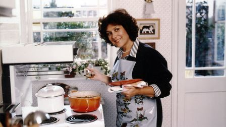 Oxo TV advertisment which was screened in 1987, with Lynda Bellingham in the kitchen. Picture: PA
