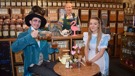 Alice Back In Wonderland is being performed by Norwich Theatre Royal Youth Company next week, and W