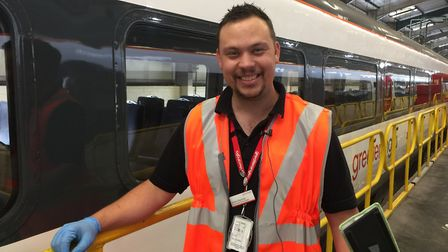 Ashley Reynolds, Presentation Team Leader at Greater Anglia Trains. Picture: Greater Anglia