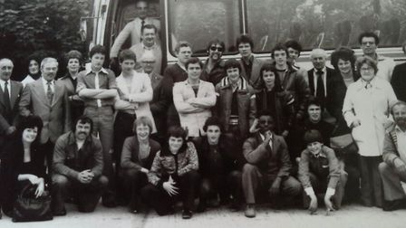 Norfolk boxers off to Guernsey in the 1970s. Photo: Ron Springall