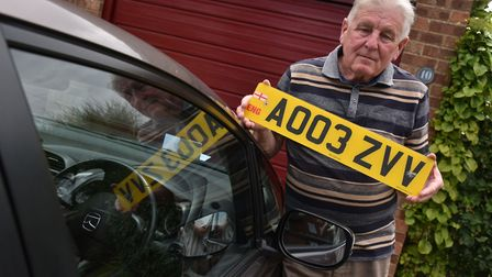 Brian Moore received a fine for inputting his number plate wrong into a car park machine.