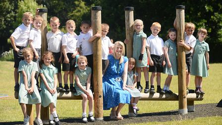 Fakenham Infant and Nursery School is closed after flooding. Pictured is headteacher Sarah Gallichan