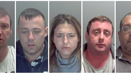 Five sentenced after admitting plan to rob a pub in Cantley. L-R: John Boyd, Mark Douglas, Michelle