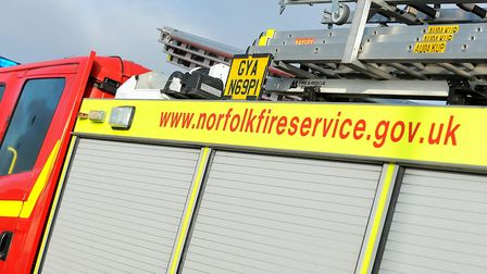 Firefighters were called to a vehicle fire in Little Walsingham. Picture: Archant