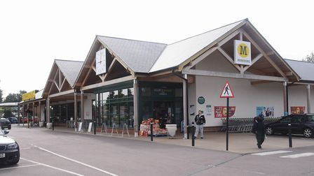 The Morrisons store at Wymondham where a serious assault took place Monday evening <17/7/17>. Pictur