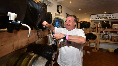Crusaders Rugby Club Beer Festival. Nick Loone, from the club. Picture: ANTONY KELLY