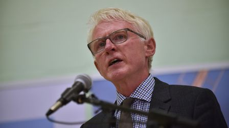 North Norfolk MP Norman Lamb has campaigned against the PFI deal at the hospital. Picture: ANTONY KE