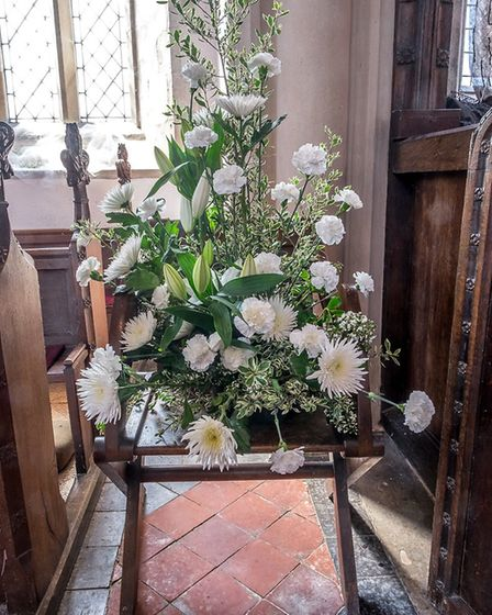 The second Blossom and Yarn Festival took place at six Wayland churches this weekend. Picture: Alan
