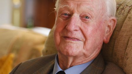 Tom Neil, who was a Battle of Britain pilot. Picture: Nick Butcher.