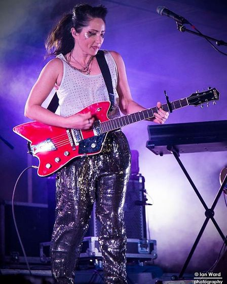 KT Tunstall performing in King's Lynn Festival Too 2017. Picture: Ian Ward